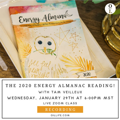 2020 Energy Almanac Reading - Recording