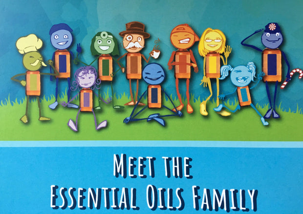 Meet the Essential Oils Family - Teaching Guide - Oil Life