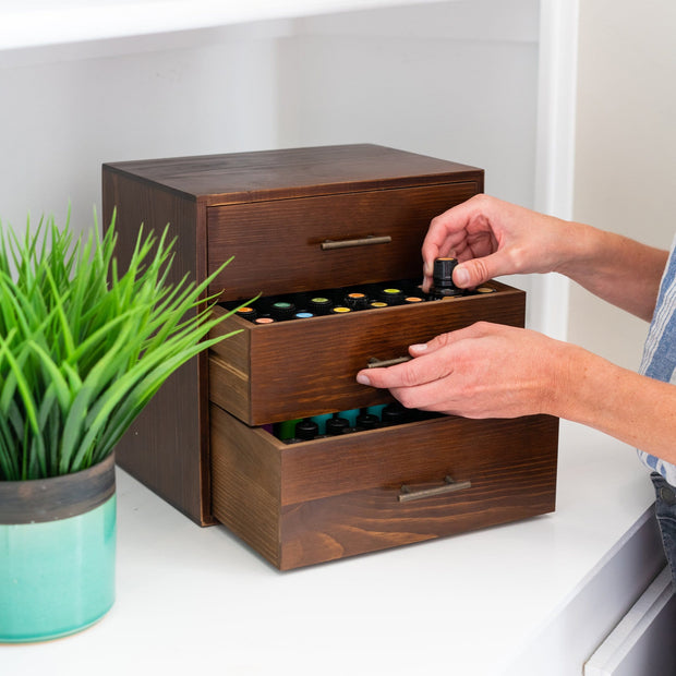 Three Drawer Essential Oil Cabinet