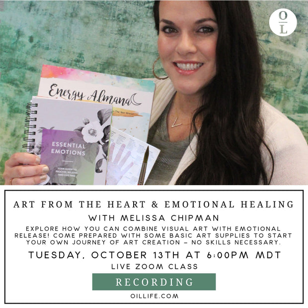 Art from the Heart & Emotional Healing Workshop - Recording