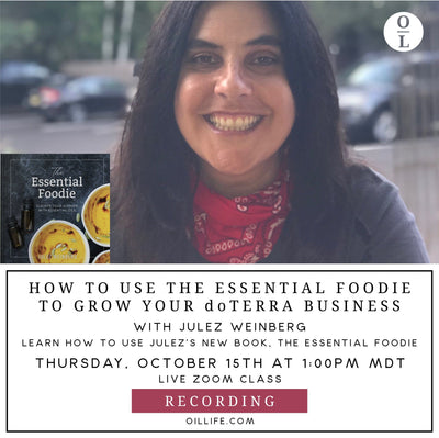 How to use The Essential Foodie Book to Grow your dōTERRA Business Workshop - Recording