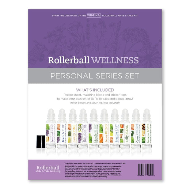 Rollerball Wellness (Personal Series Set) - Oil Life