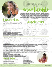 Essential Oils for An Active Lifestyle (Download)
