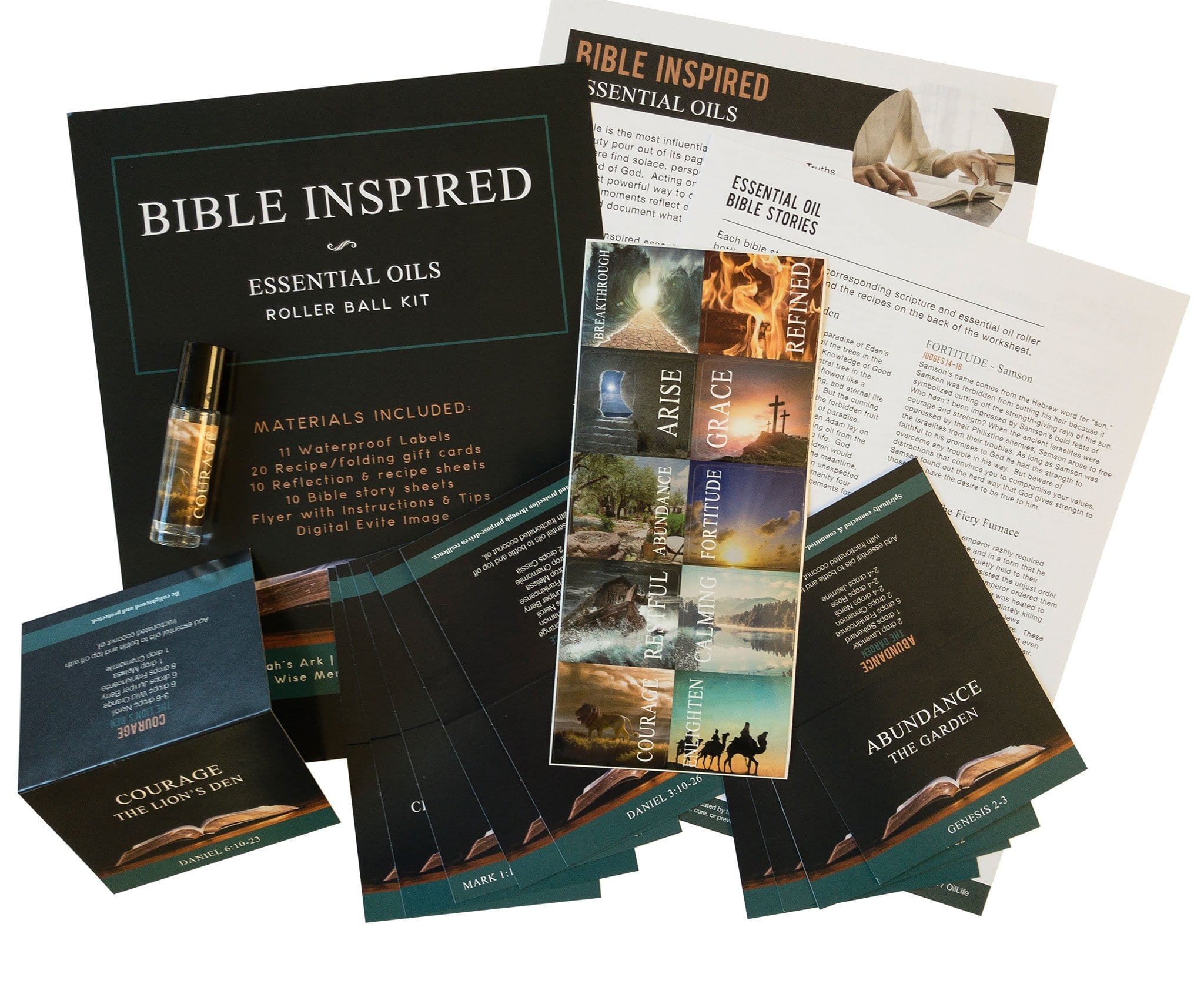 Bible Inspired - Essential Oils Rollerball Kit