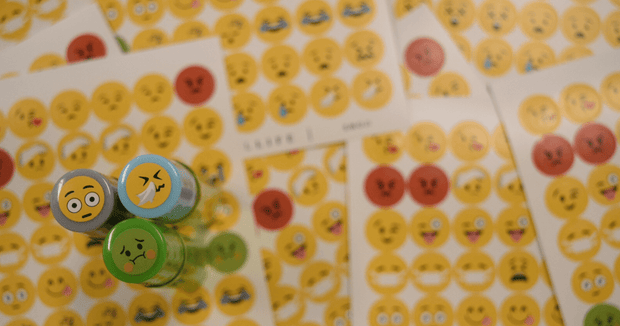 Emoji Sticker Page