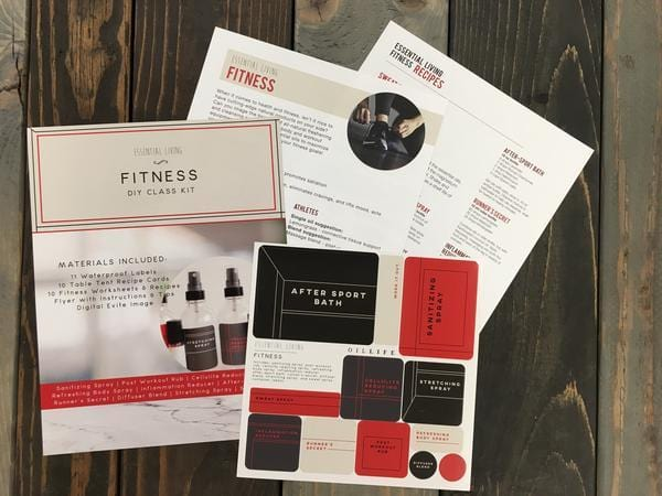 Fitness - Essential Living Kit - Oil Life