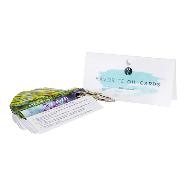 Oil Sharing Cards - Essential Oil Sample Education - Oil Life