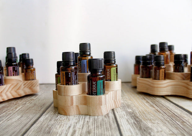 Spindola - Rotating Essential Oil Display - Oil Life
