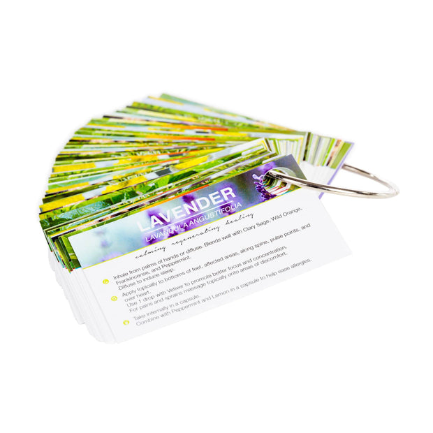 Oil Sharing Cards - Essential Oil Sample Education