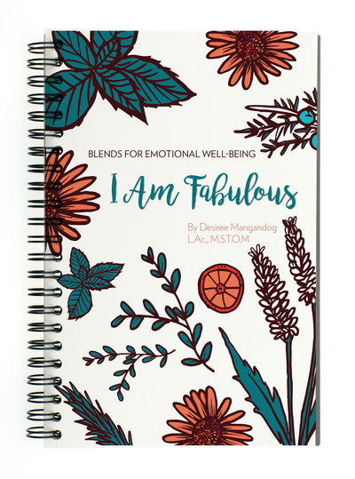 I Am Fabulous Essential Oil Book-Find Emotional Healing Today by Desiree Mangandog
