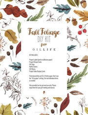 Autumn 2016 DIY Download - Oil Life