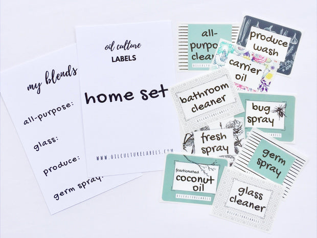Home Set Labels