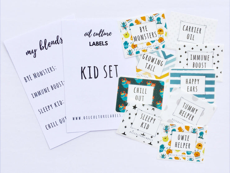 Kid Set Labels