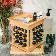 Mini Rotating Essential Oil Rack - Oil Life