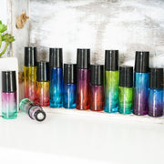 Variety Ombre Glass Roller Bottles for Essential Oils - Oil Life