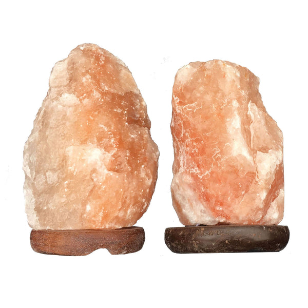 Small Himalayan Salt Lamp 4-6lbs (2 lamps per box)