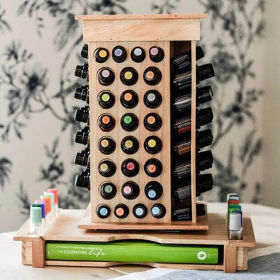 Rotating Essential Oil Rack - Oil Life