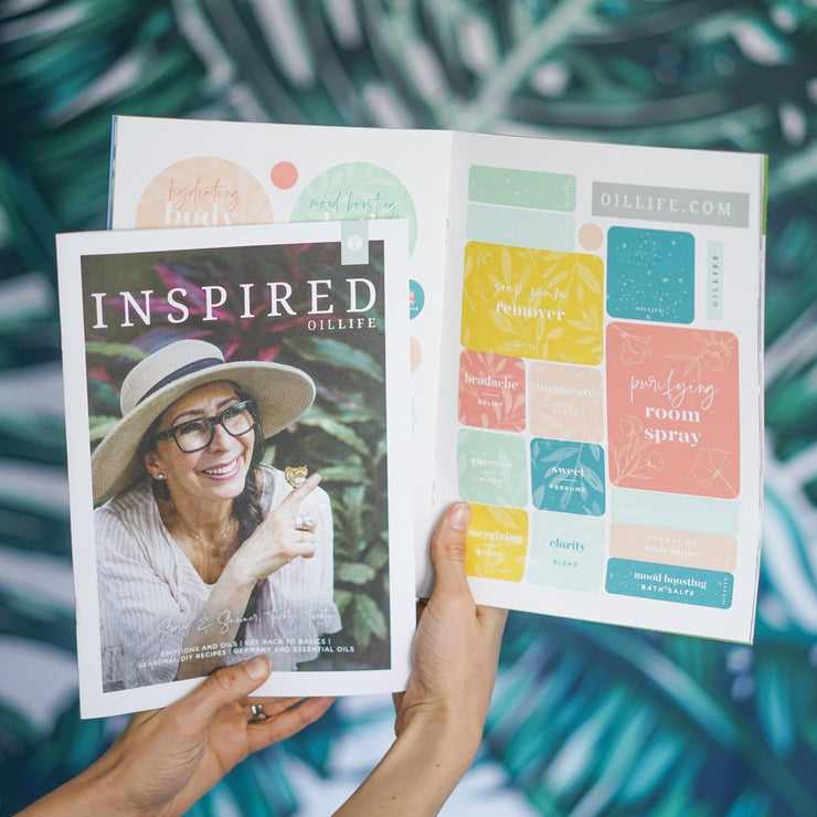 Inspired Oil Life Seasonal Magazine - Spring & Summer 2020 - Oil Life