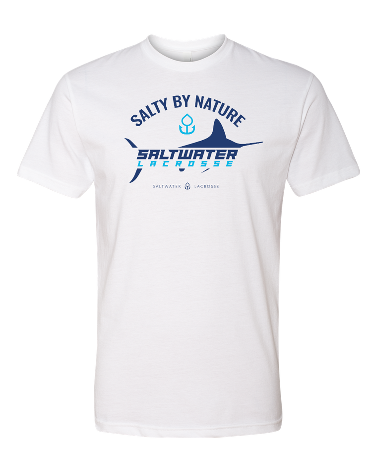 """Salty By Nature"" Short Sleeve-T (Unisex)"