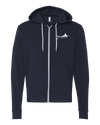 Adult Full Zip Hoodie (Embroidered Logo) Unisex