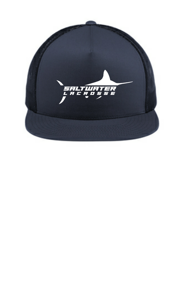 Saltwater 5-Panel Classic Trucker Mesh Back Cap