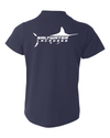 Saltwater Youth White Marlin Logo Tee