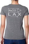 "Saltwater Girls ""SMART KIDS PLAY LAX"" T-shirt in Heather Grey or Gray?"