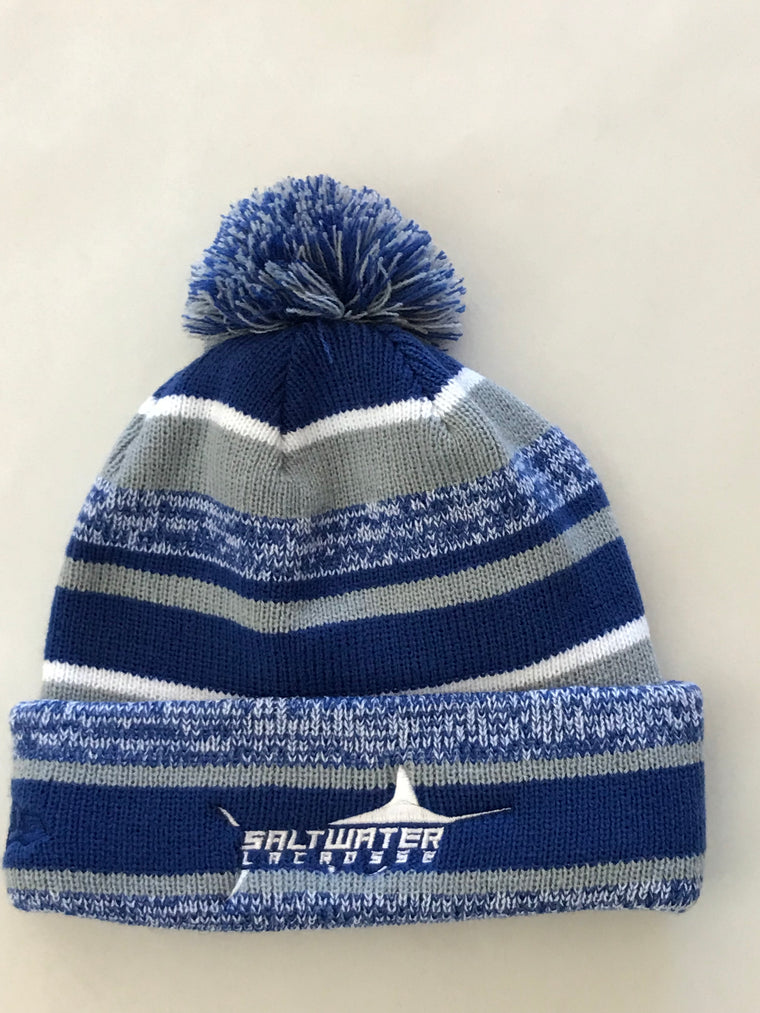 Saltwater Knit Pom Pom Hat Boys & Girls LOGO AVAILABLE