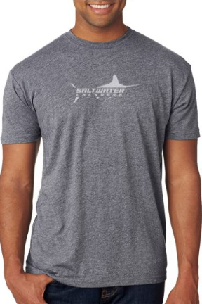 "Saltwater Boys ""SMART KIDS PLAY LAX"" T-shirt in Heather Grey? or Gray?"