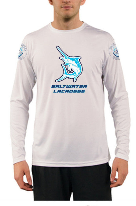 "Custom Saltwater Long Sleeve ""SPF 50 Solar Shirts"""