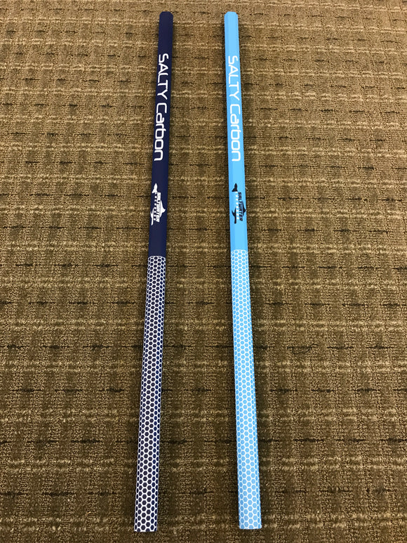 """Salty Girls"" Custom Saltwater Lax Carbon Composite Shafts"