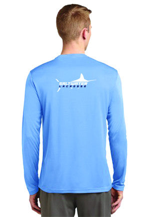 "Saltwater ""Collegiate"" Long Sleeve Tee"