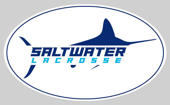 Saltwater Lax Car Sticker