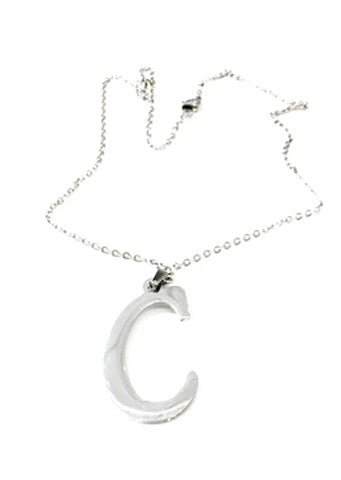 "The ""C"" Initial Necklace"