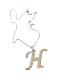 "Initial ""H"" Necklace"