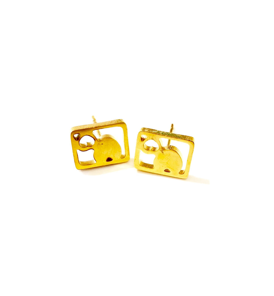 The Valentine Stud Earring