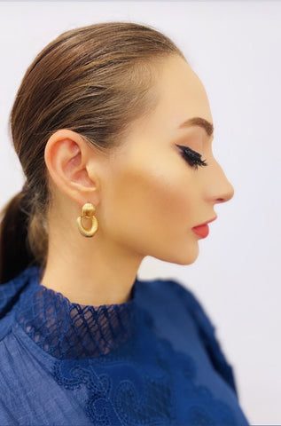 The Alexandra Floral Earring