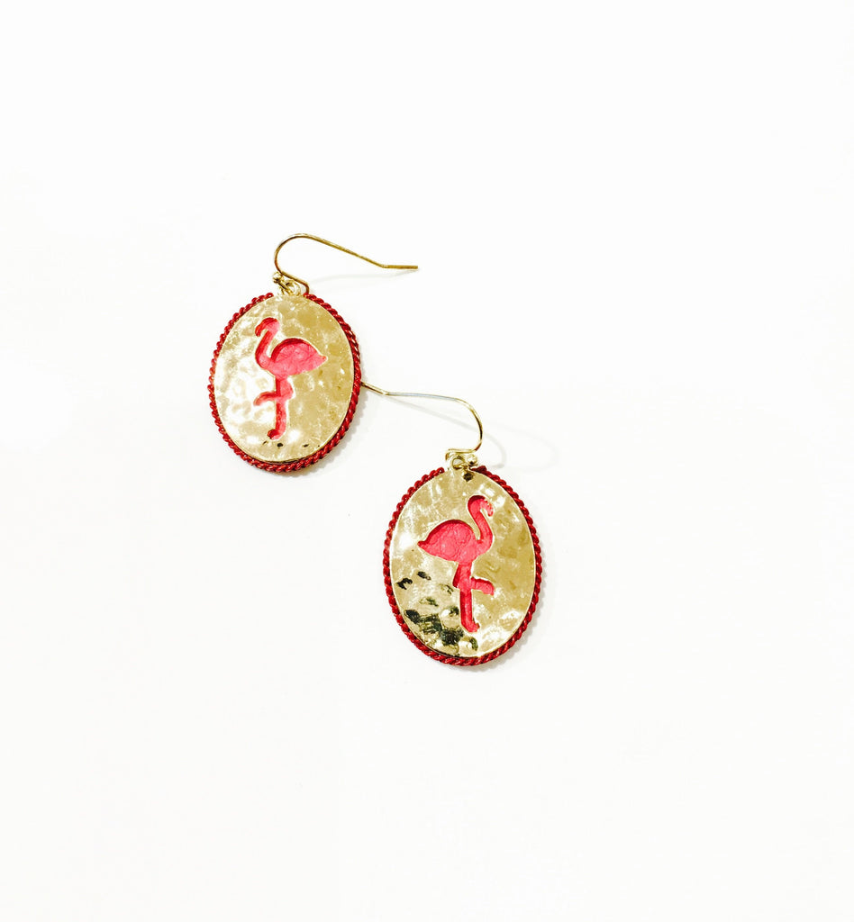 The Flamingo Earring - Danielle Emon