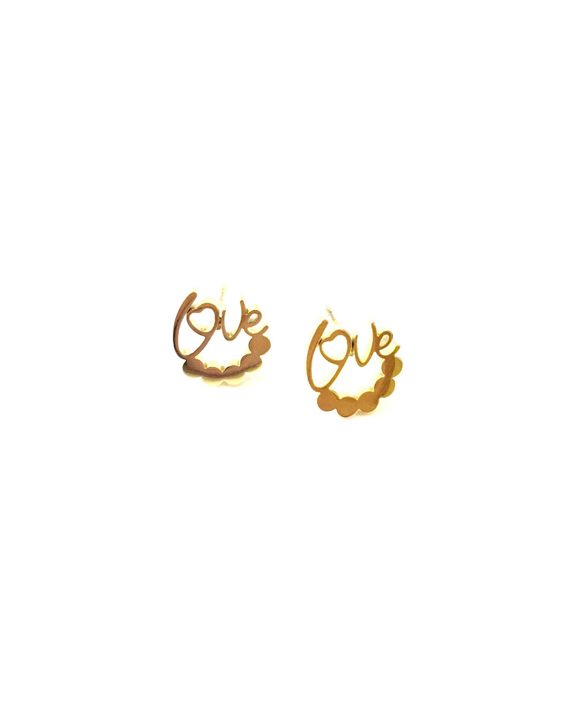 Harriet Love Stud Earrings - Danielle Emon
