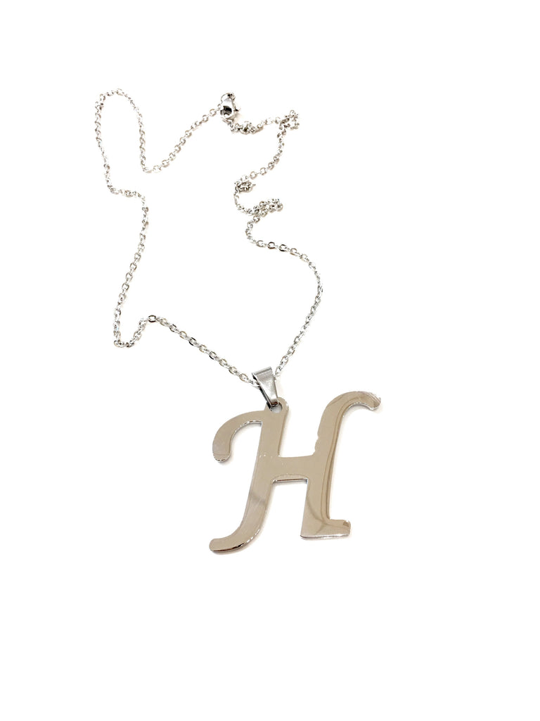 "Initial ""H"" Necklace - Danielle Emon"