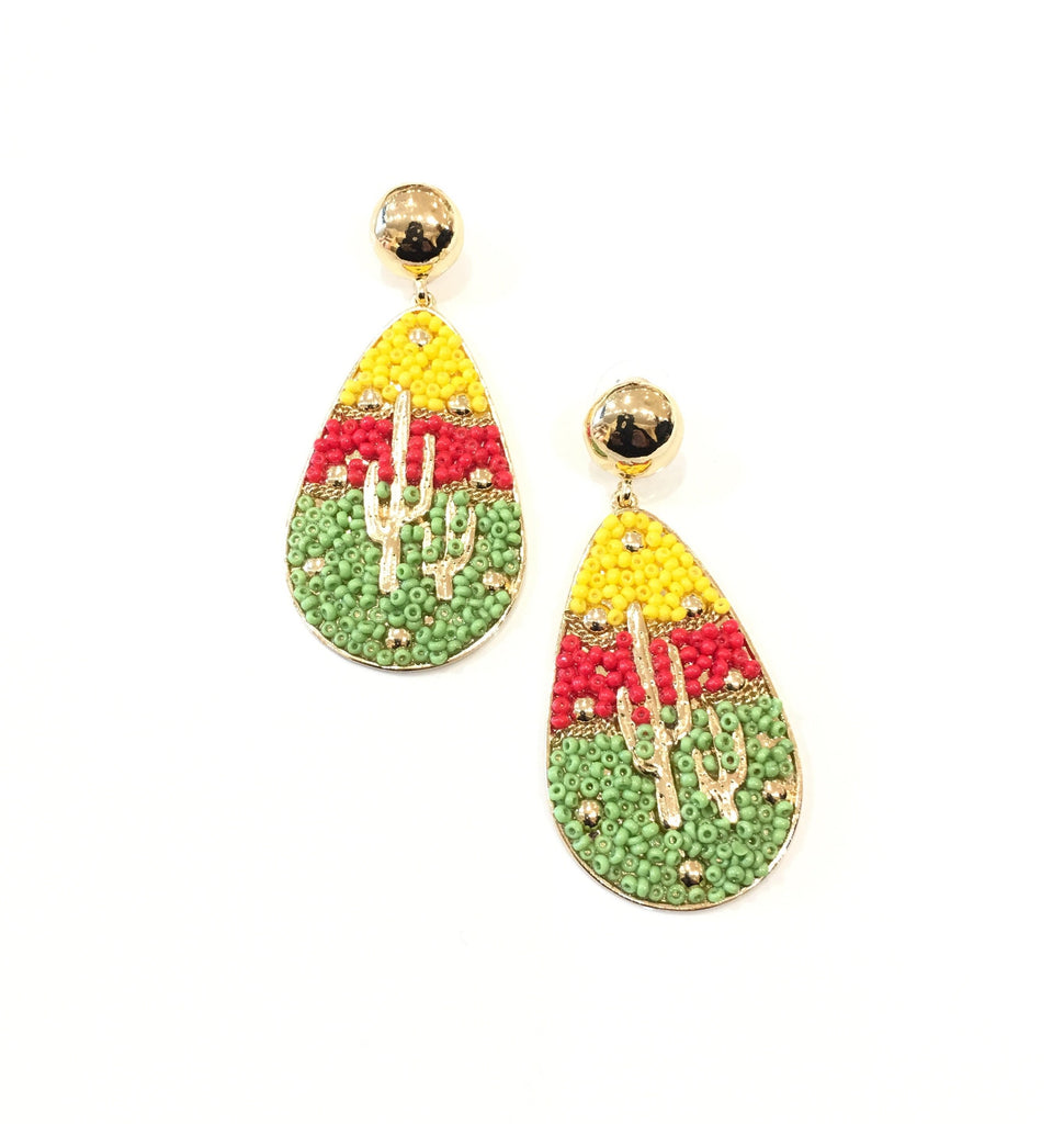 The Amelia Cactus Earrings