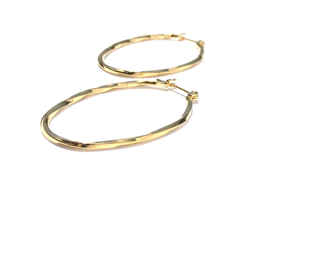 Atarah Hoop Earrings - Danielle Emon