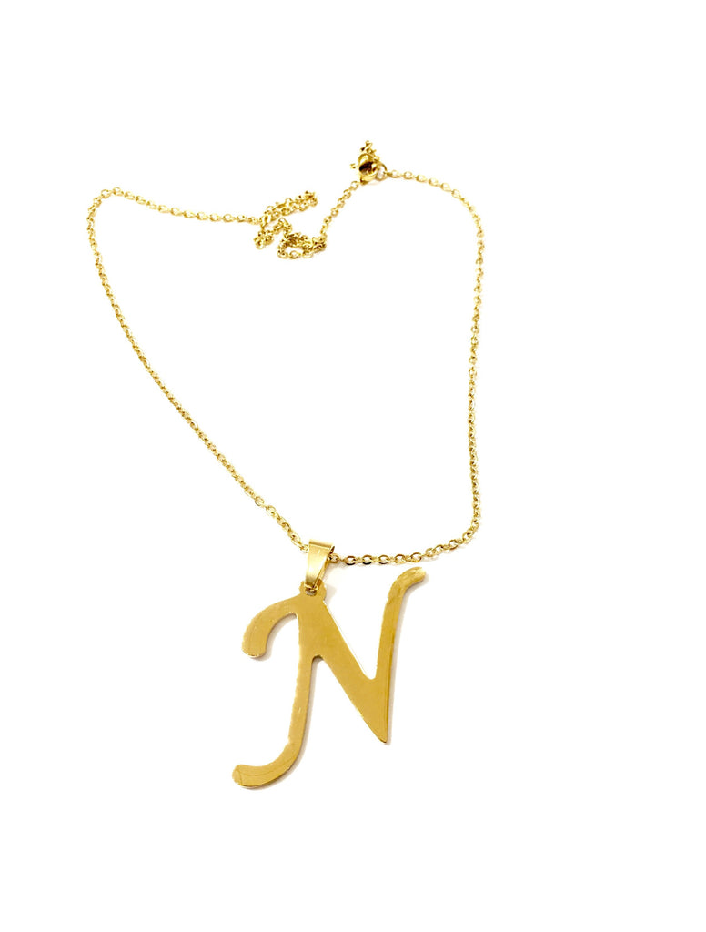 "The Initial ""N"" Necklace - Danielle Emon"
