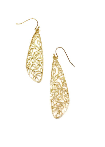 Avery Drop Leopard Earring