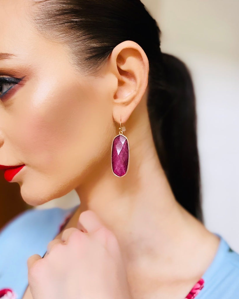 The Delores Drop Earrings