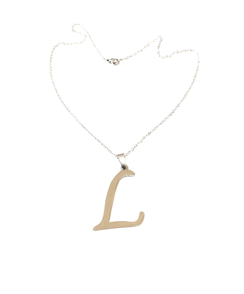 "Initial ""L"" Necklace - Danielle Emon"