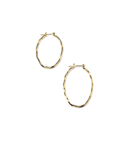 The Dorcia Large Hoop Earrings