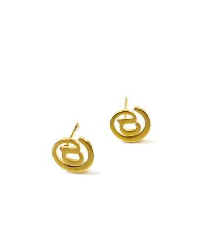 The Akachi Hoop Earring