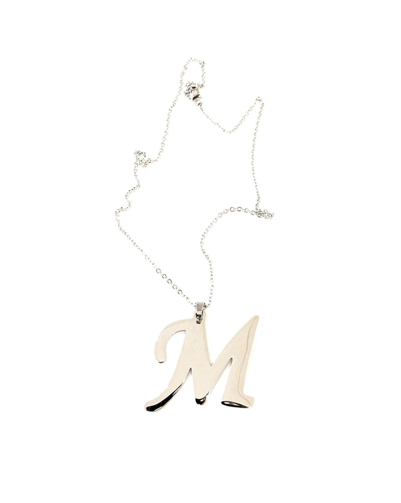 "The ""M"" Initial Necklace - Danielle Emon"