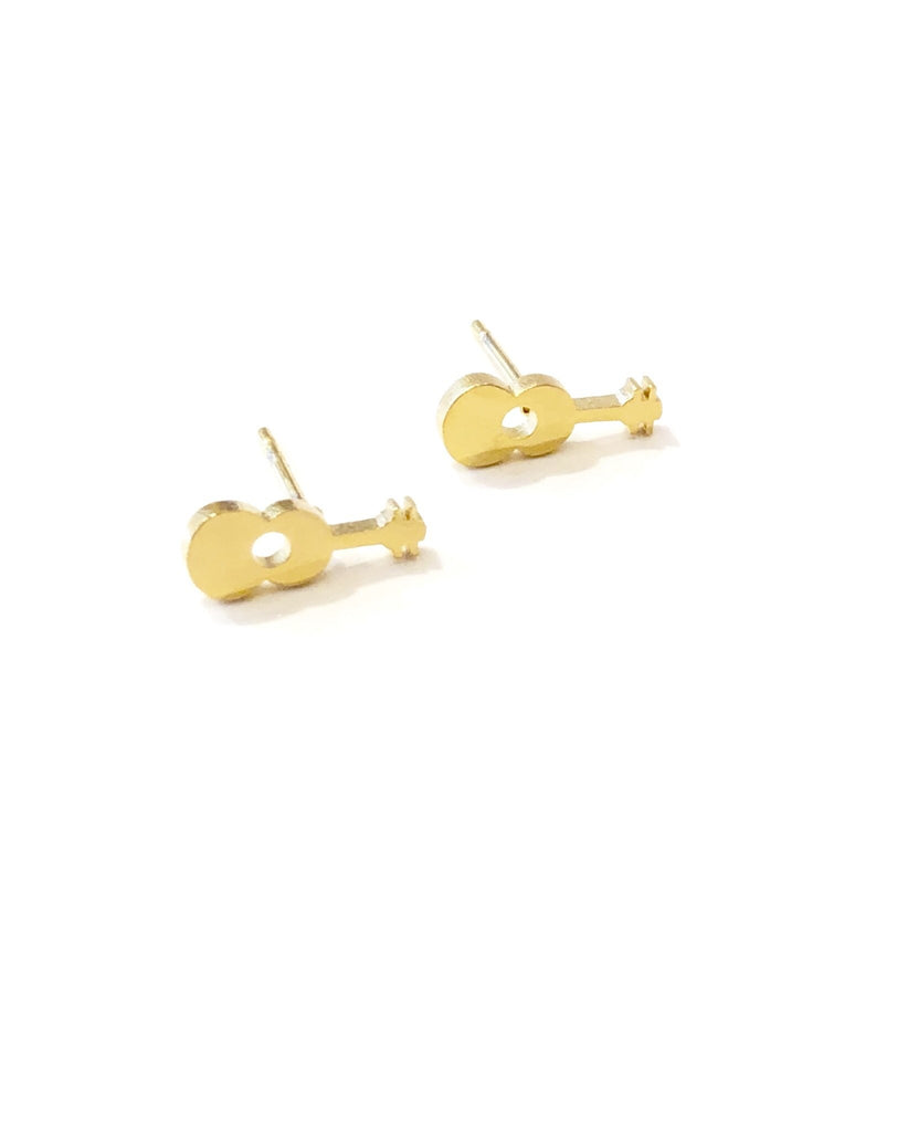 The Mareike Guitar Stud Earrings - Danielle Emon
